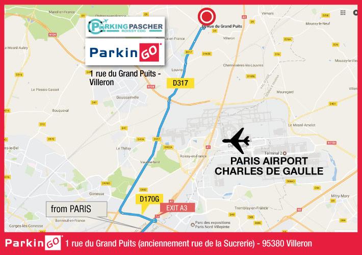 Parkingo Il Tuo Parcheggio Presso Aeroporto Di Parigi Charles De Gaulle