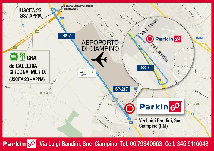 Parkingo Il Tuo Parcheggio Presso Aeroporto Di Roma