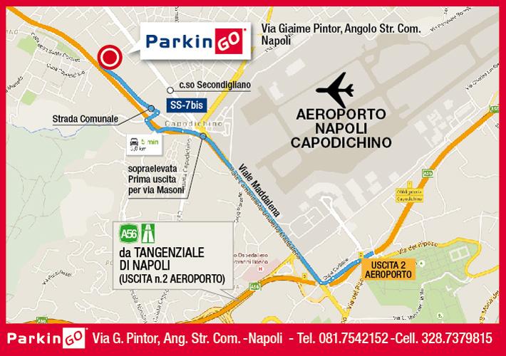 cartina parkingo parcheggio napoli aeroporto