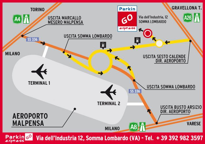 Milano Malpensa Terminal 1 E 2