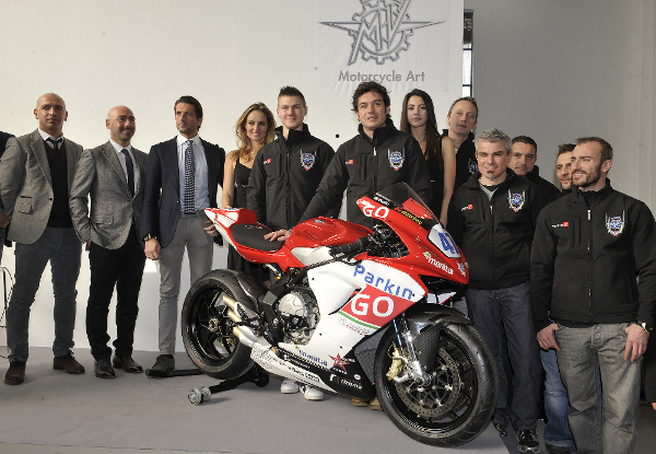 ParkinGO MVAgusta Team